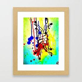 Infinity Legs Framed Art Print