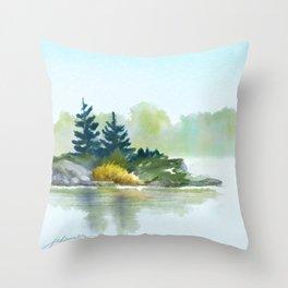 Little Pine Point Throw Pillow