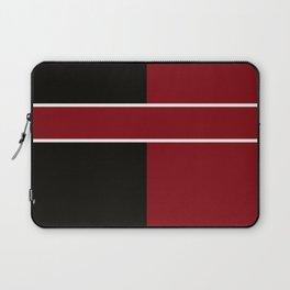 Team Color 6...Maroon,black Laptop Sleeve