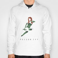 poison ivy Hoodies featuring Poison Ivy by BatSpats