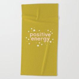 Positive Energy Beach Towel