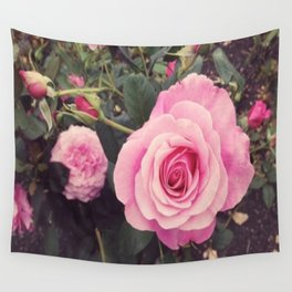 Botanical Rose Wall Tapestry