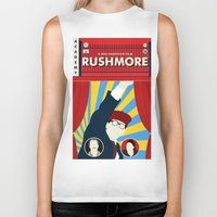 rushmore Biker Tanks featuring Rushmore by Bill Pyle