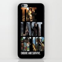 the last of us iPhone & iPod Skins featuring The Last of Us by fardeen