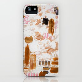 Amber and Pink iPhone Case