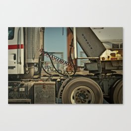 On the Road. Canvas Print