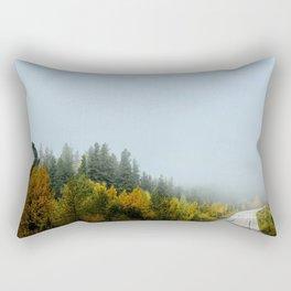 Morning drive Rectangular Pillow