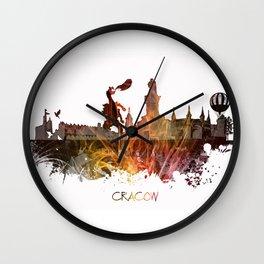 Cracow Poland Wall Clock