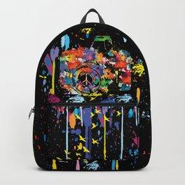 Paint DSLR Backpack
