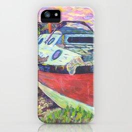 Claude's Boat iPhone Case