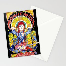 BOWIEMAS 9 - Rebel Rebel / Alphonse Mucha - 2013 Stationery Cards