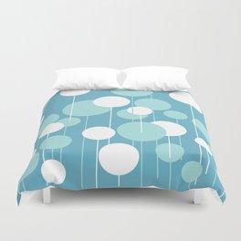 Float - Blue & White Duvet Cover