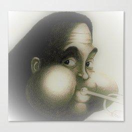 Dizzy Gillespie Canvas Print