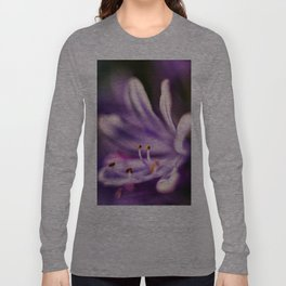 Lily of the Nile Purple Close-up Long Sleeve T-shirt