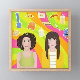 Broad Illustration Framed Mini Art Print