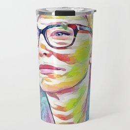 Cate Blanchett (Creative Illustration Art) Travel Mug