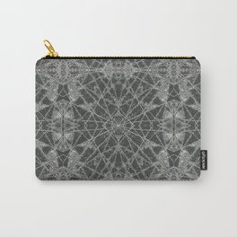 Frozen Black Carry-All Pouch