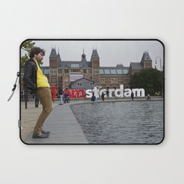 I Amsterdam Cock (Amsterdam) Laptop Sleeve