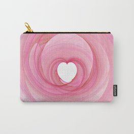 Valentine's Fractal I - Light Carry-All Pouch