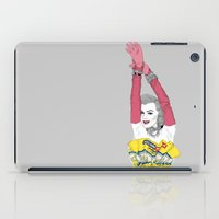 monroe iPad Cases featuring MONROE by Agnes Domokos