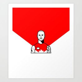 Buddy Franklin Art Print