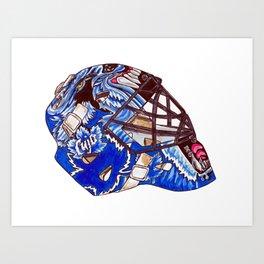 Joseph - Mask Art Print