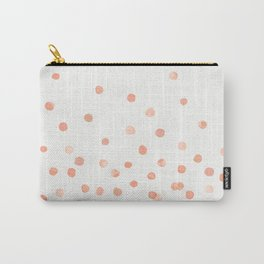 ROSE WATERCOLOR DOTS Tasche