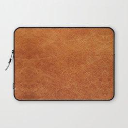Farmhouse Style Original Camel Leather Oriental Design. Laptop Sleeve
