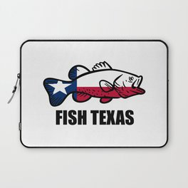 Fish Texas Laptop Sleeve