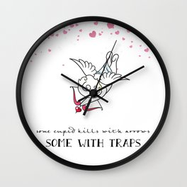 The Art of Cupid Love Wall Clock