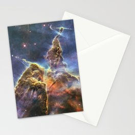 carina carina and her fuzzy psychedelia | space #12 Stationery Cards