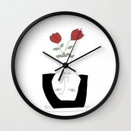 vase Wall Clock