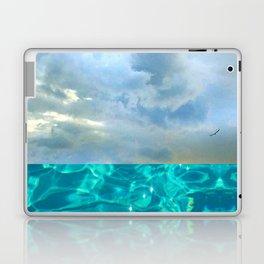 seascape 006: solo flight over swimming pool Laptop & iPad Skin