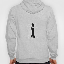 I from 36 Days of Type | 2016 Hoody