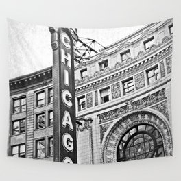 Chicago Theater Wall Tapestry