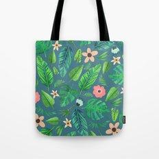 Tropical Life | #society6 #decor #buyart #pattern Tote Bag