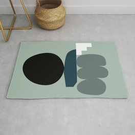 Shape study #19 - Stackable Collection Rug