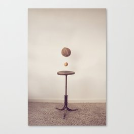 The Coconut Shy Canvas Print