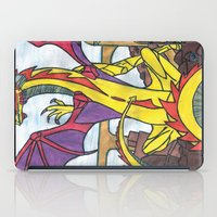 dragon iPad Cases featuring Dragon by Vickn