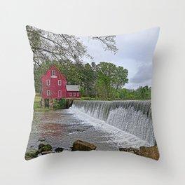 Along Whitewater Creek Throw Pillow