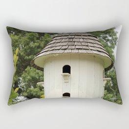 Fancy Bird House Rectangular Pillow