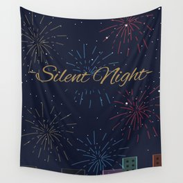 Silent Night Wall Tapestry