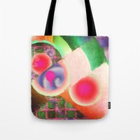 funky Tote Bags featuring Funky by Joel Olives