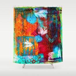 Aztec Dreams Shower Curtain