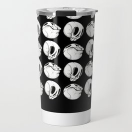 Having a ball with skulls! Travel Mug