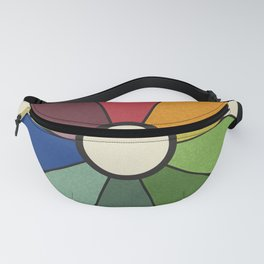 James Ward's Chromatic Circle (no background) Fanny Pack