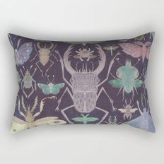 Entomologist's Wish (The Neon Version) Rectangular Pillow