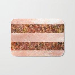 Red Stripes Bath Mat