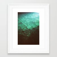 pool Framed Art Prints featuring Pool by Dulcinee