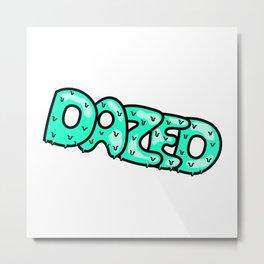 Dazed II Metal Print